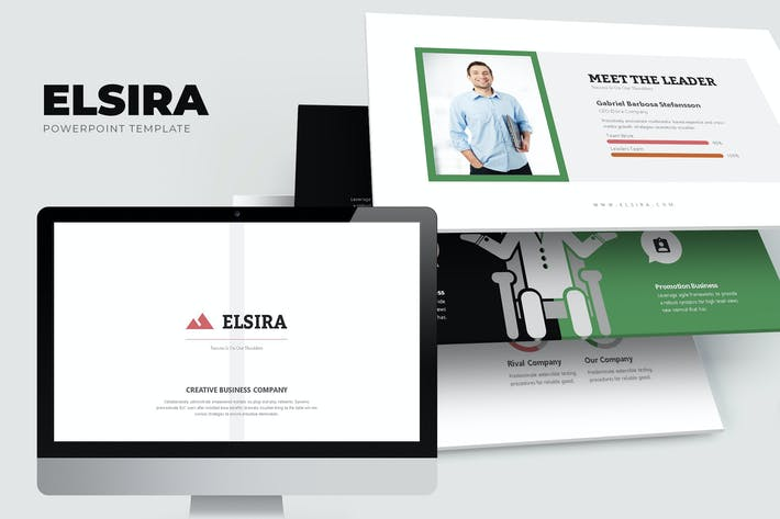 Thumbnail for Elsira : Elegant Corporate Marketing Powerpoint