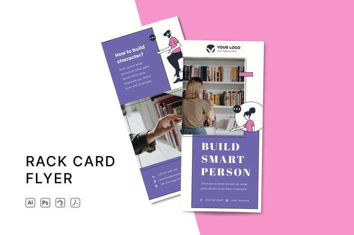 Thumbnail for Flyer Rack Card
