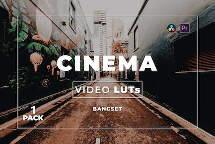 Bangset Cinema Pack 1 Video LUTs