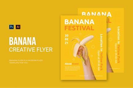 Banana Festival - Flyer