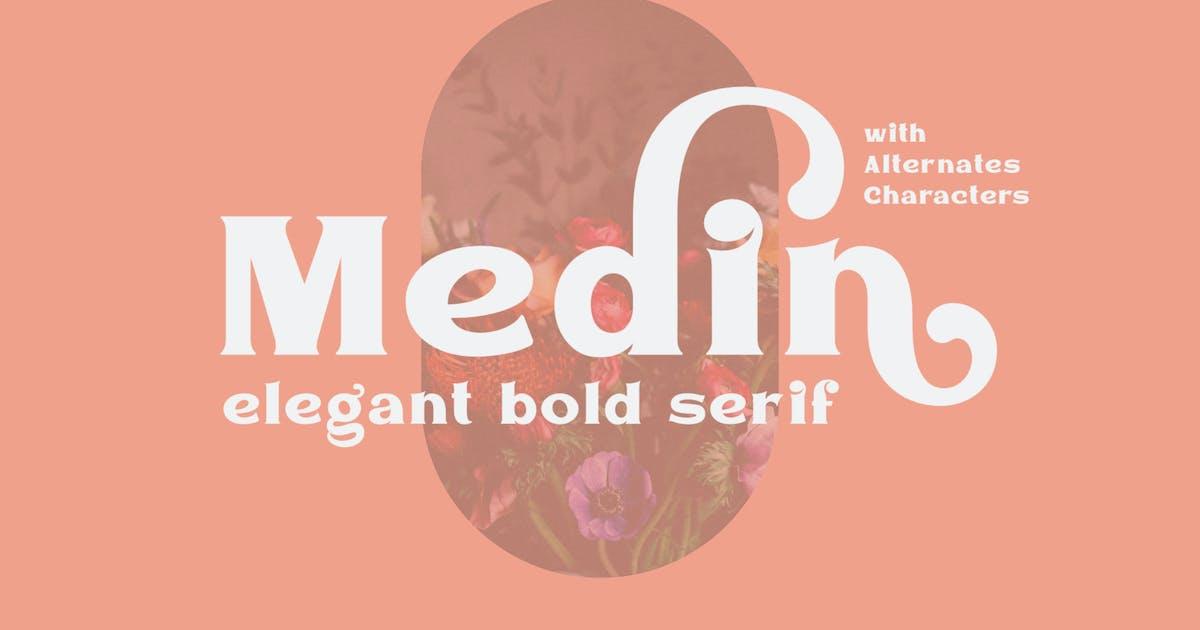 Download Medin - Elegant Font Serif by ViactionType
