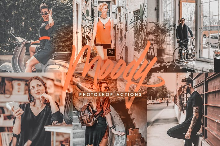 Thumbnail for Street Mood Photoshop Actions