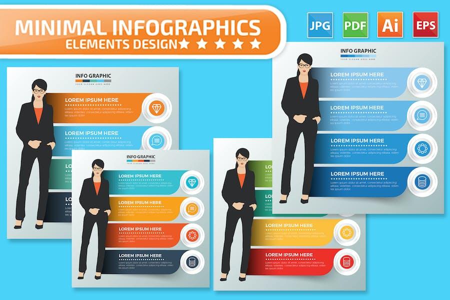 Woman Infographics design