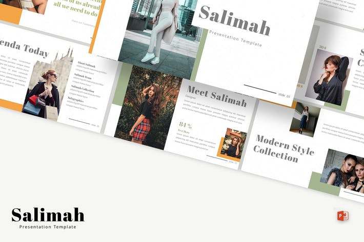 Thumbnail for Salimah - Powerpoint Template