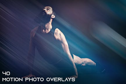 40 Motion Photo Overlays