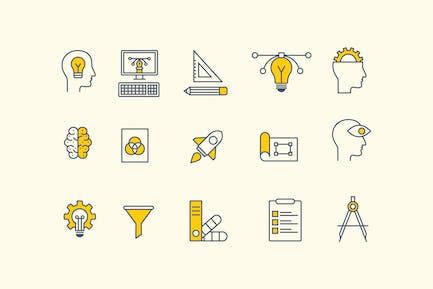 15 Design Thinking Icons