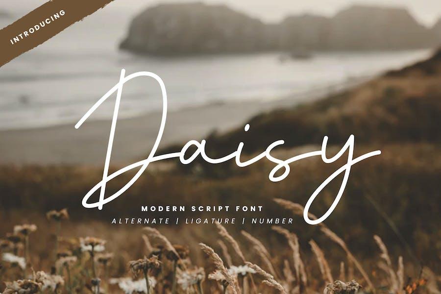 Daisy - Fuente de secuencia de comandos moderna