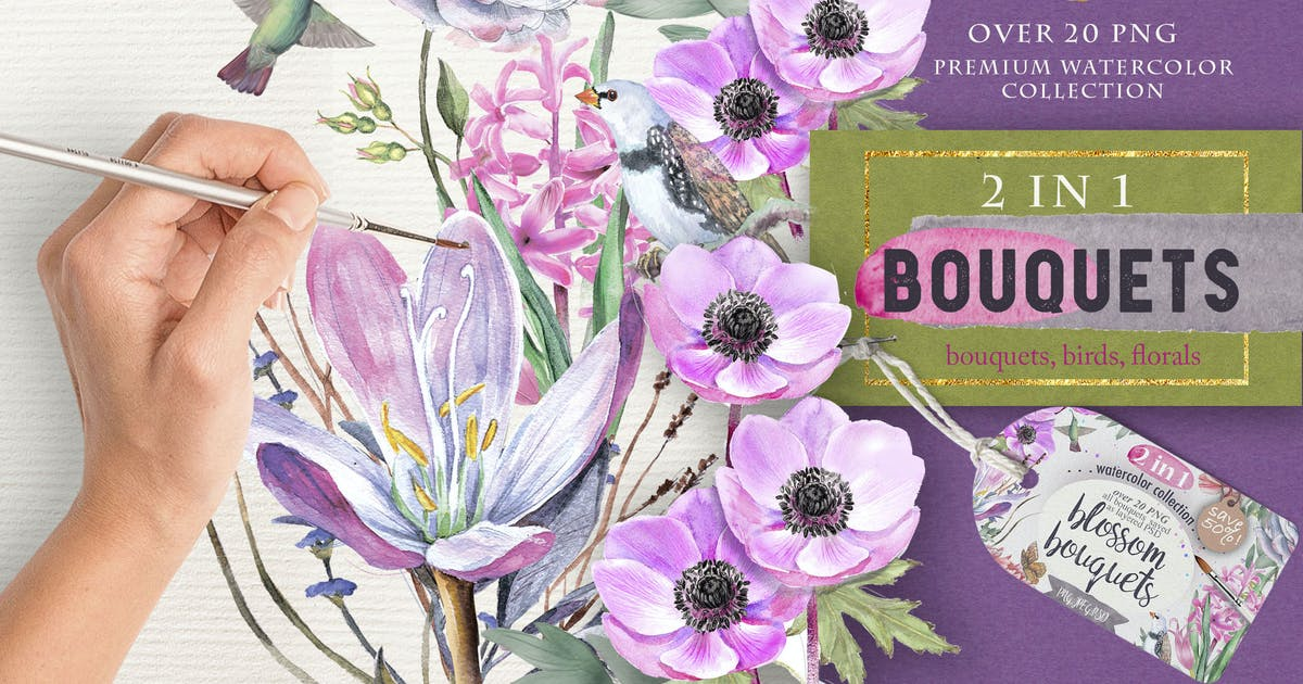 Download Blossom bouquets by MikiBith