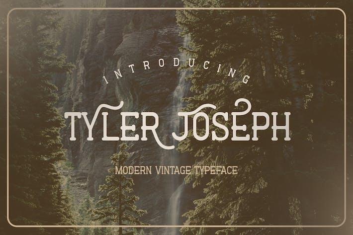 Tyler Joseph - Fuente vintage moderna