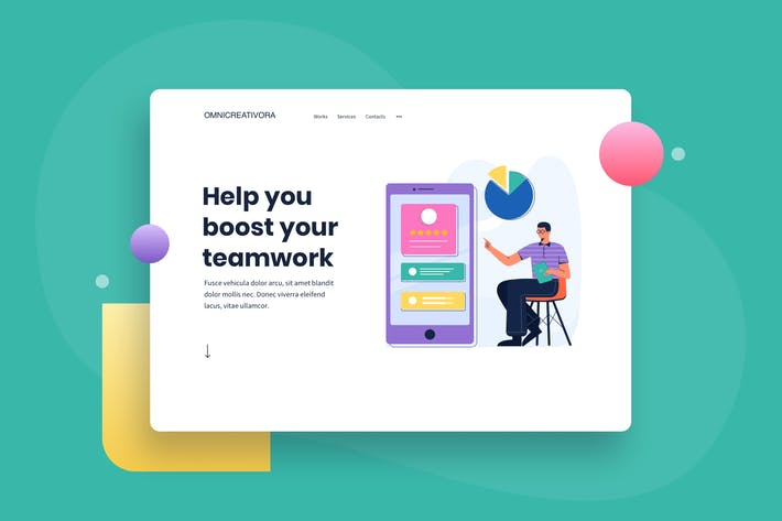 Research Customer Need Landing Page Header