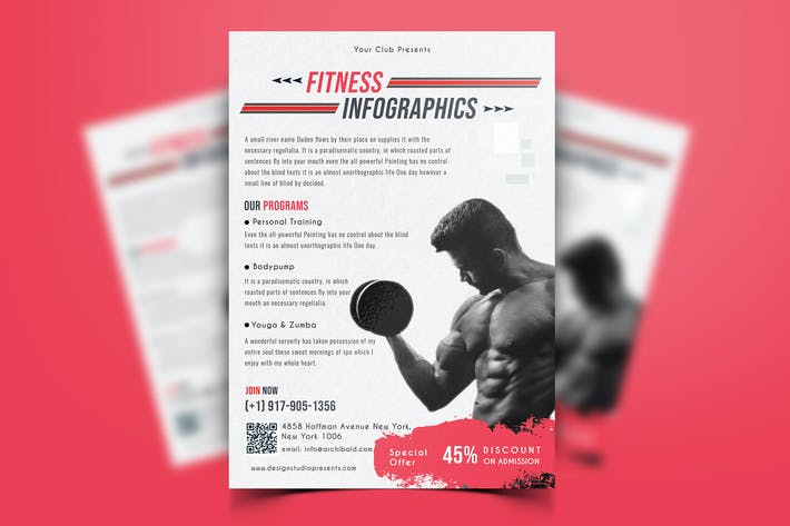 Thumbnail for Gym & Fitness Flyer-06