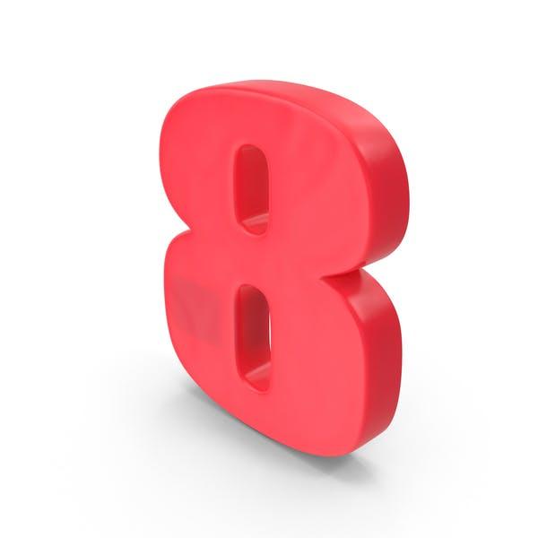 Thumbnail for Number 8 Fridge Magnet