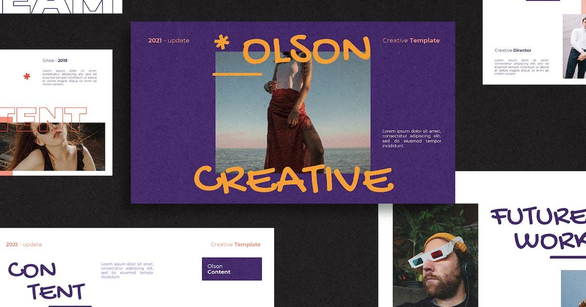 Download Olson Keynote Template by axelartstudio
