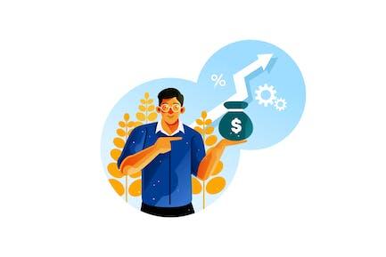 Successful entrepreneurs increase profits