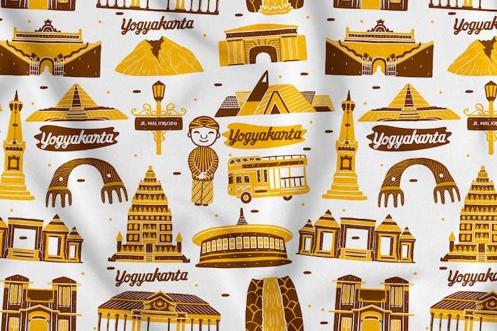 Thumbnail for Yogyakarta Seamless Pattern