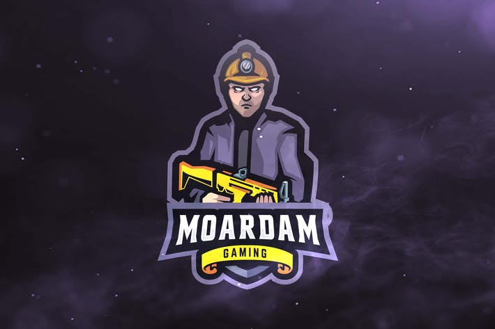 Thumbnail for Amateur Soldier Sport and Esports Logos