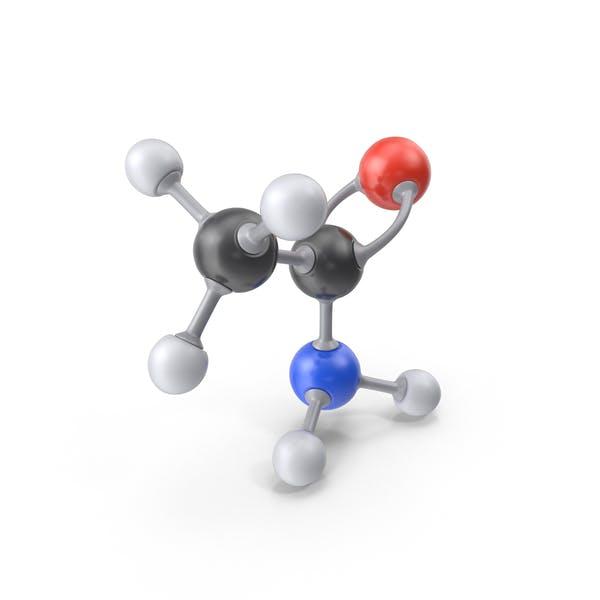 Молекула ацетамида