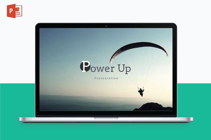 Thumbnail for POWER UP - Multipurpose PowerPoint Template V5