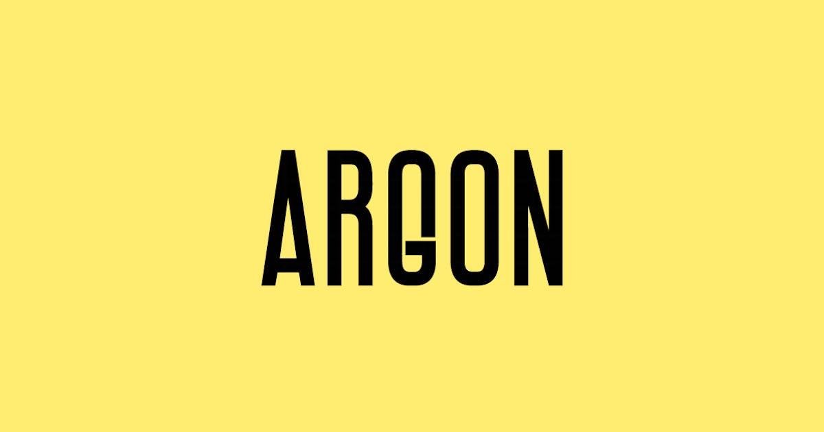 Download ARGON - Unique Display / Headline Typeface by designova