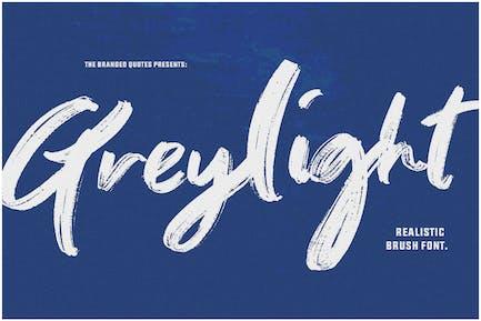 Greylight - Handwritten Brush