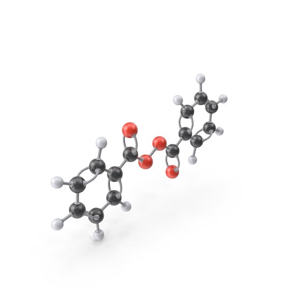 Cover Image for Benzoyl Peroxide Molecule