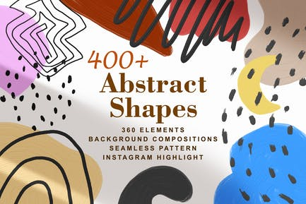 400 Modern Abstract Collection