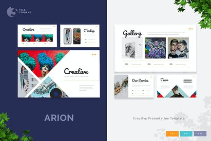 Arion - Creative Presentation Template