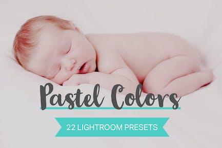 22 Pastel Colors Lightroom Presets