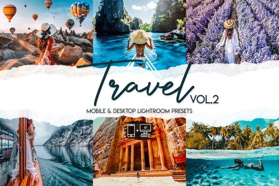 Travel Vol. 2 - 15 Premium Lightroom Presets