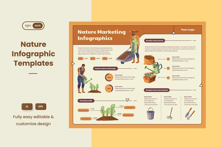Thumbnail for Infographic examples for Ecology & Nature 02