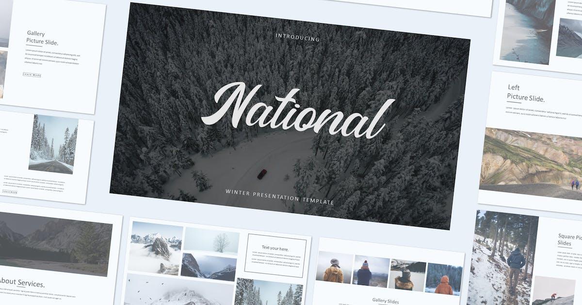 Download NATIONAL - Keynote Template by indotitas