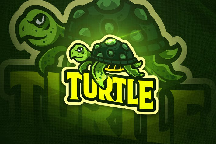 Thumbnail for Turtle v.2 - Mascot & Esport Logo