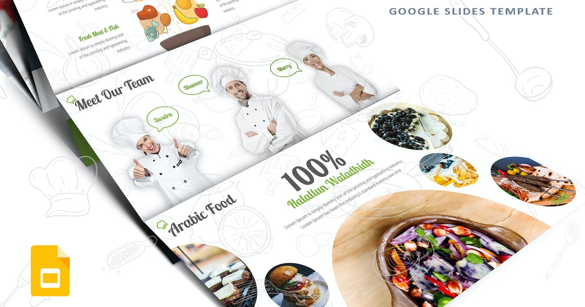 Download Foodie-Google Slides Template by Unknow