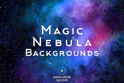Magic Nebula Backgrounds