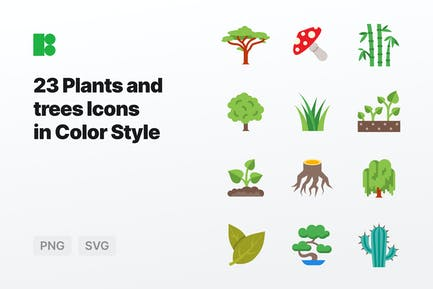 Color - Plants and Trees