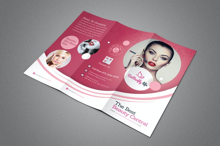 Thumbnail for Beauty Salon Trifold Brochure