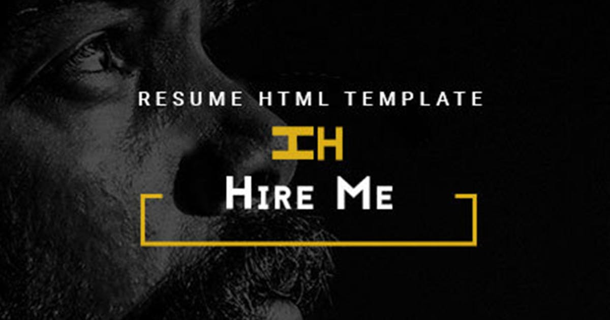 Hire Me - Personal vCard, Portfolio HTML Theme by max-themes