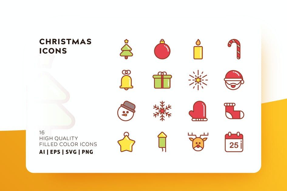 Download CHRISTMAS FILLED COLOR by subqistd