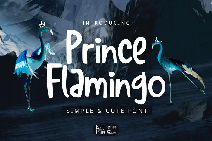 Thumbnail for Prince Flamingo Font