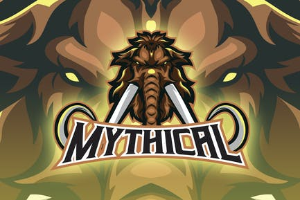 Mythical Mammoth Esport Logo