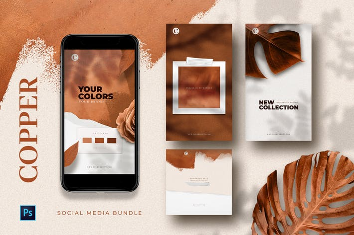 Cover Image For Copper - Social Media Templates