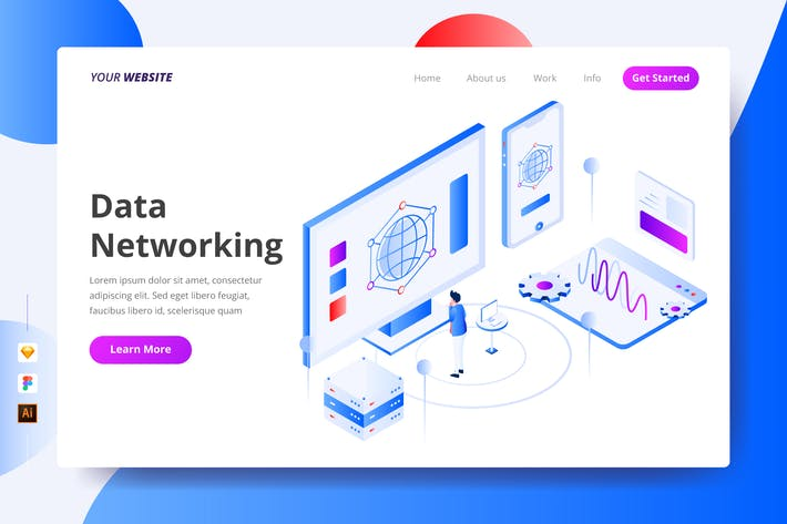 Thumbnail for Data Networking - Landing Page