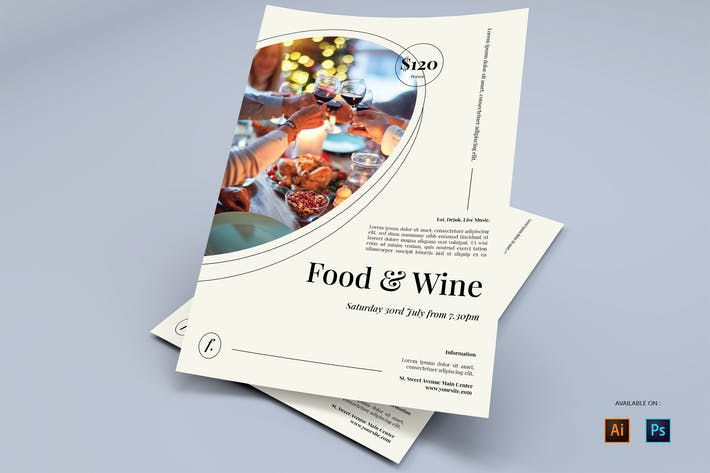 Restaurant - Flyers Design