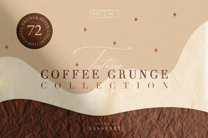 Thumbnail for 72 Coffee Grunge Textures