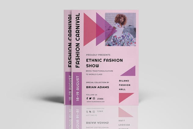 Fashion Events Flyer