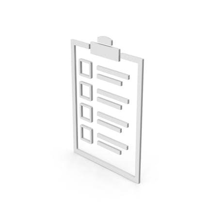 Symbol Checklist