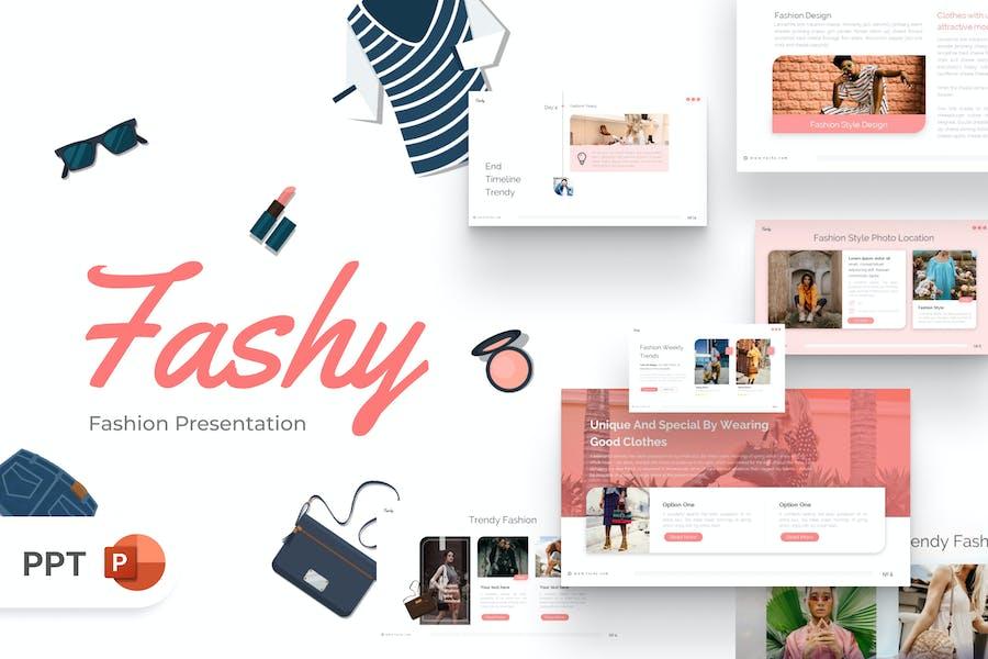 Fashy Fashion PowerPoint Template