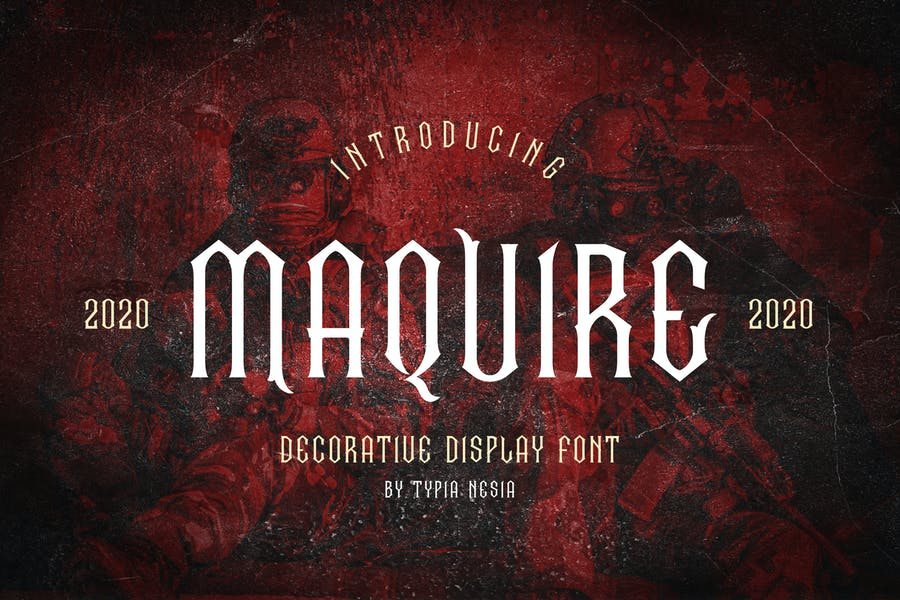Maquire Decorative Font
