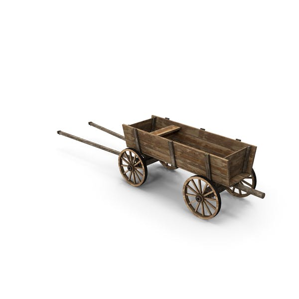 Thumbnail for Wooden Cart