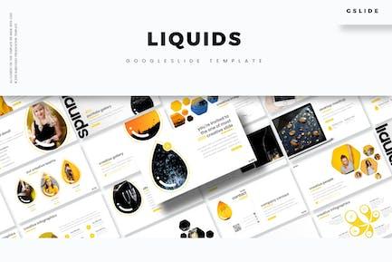 liquids - Google Slide Template